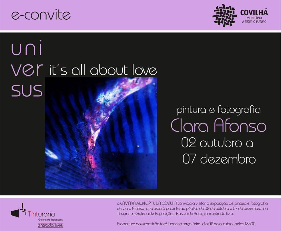 Clara Afonso -convite-covilhã